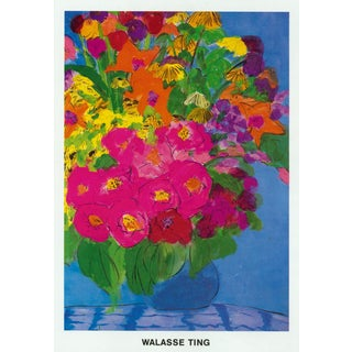 """Flowers"" by Walasse Ting"