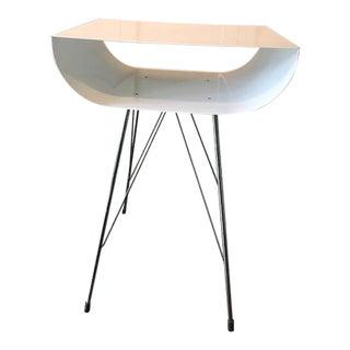 White Modern Side Table