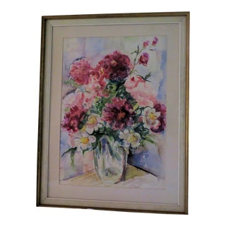"""Garden Bouquet"" Watercolor Painting"