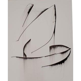 """""""Glacier"""" Original Pen/Ink Drawing by Erik Sulander"""