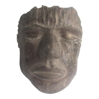 1993 Artsian Handmade Clay Pottery Mask