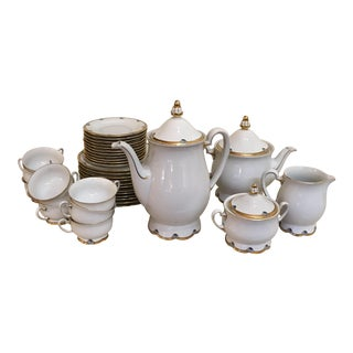 1920s Royal Tettau Coffee Tea & Dessert Set - 36 Pieces