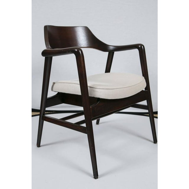 Gunlocke Wood Framed Armchair - Image 5 of 10