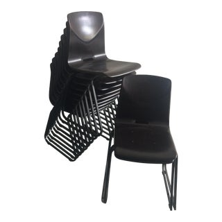 Thur-Op Stacking Chairs - Set of 11