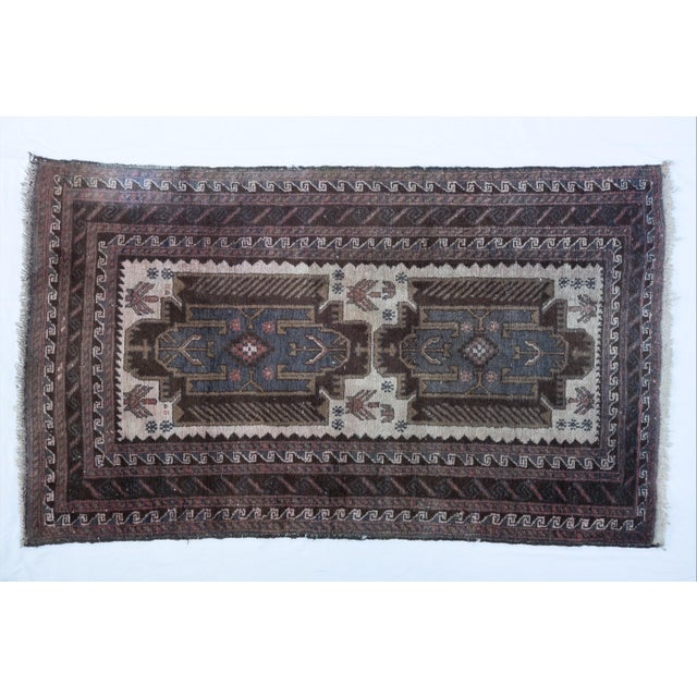 "Image of Vintage Turkish Tribal Rug 'Asli' - 2'9""x4'9"""