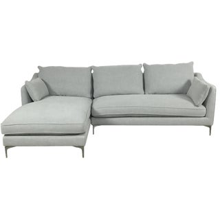 Modern Canvas Sectional Sofa