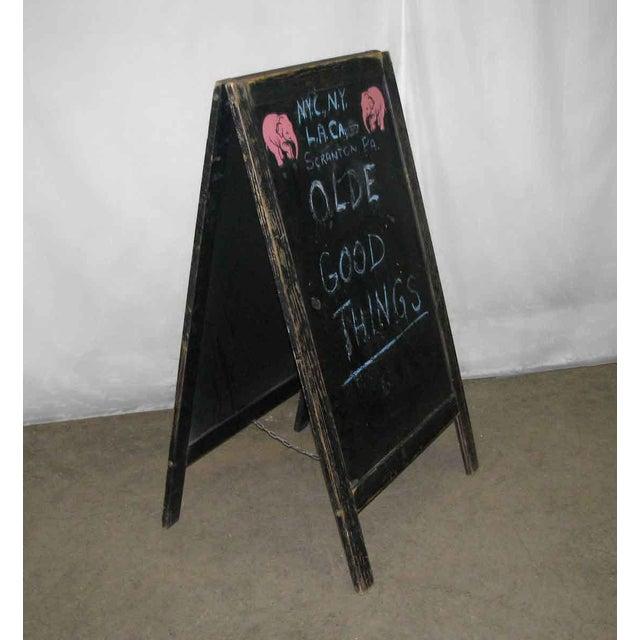 Vintage Sandwich Board Sign - Image 6 of 8