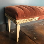 Image of Tufted Mohair Bench