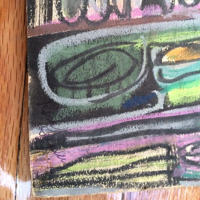Pastels on Board Modern Art Interiors - Image 3 of 7