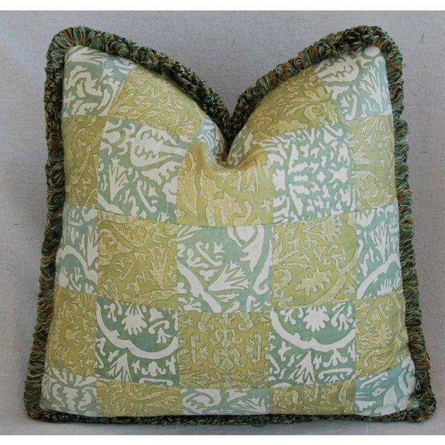 Image of Custom Italian Fortuny Piazzetta & Boucher Pillows - a Pair