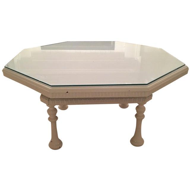 Emporium Home Waverley White Gloss Coffee Table: High-Gloss White Coffee Table