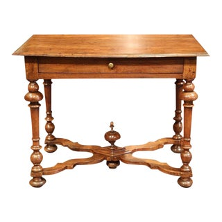Late 18th Century French Walnut Side Table