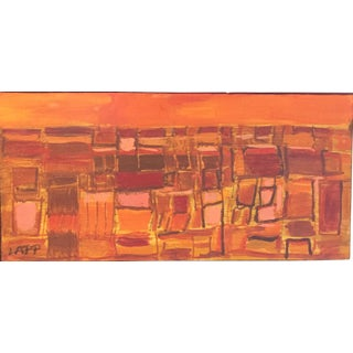 Maurice Lapp Abstract Landscape Original Painting