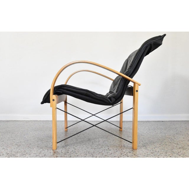 Vintage Italian Bentwood Lounge Chair - Image 4 of 10
