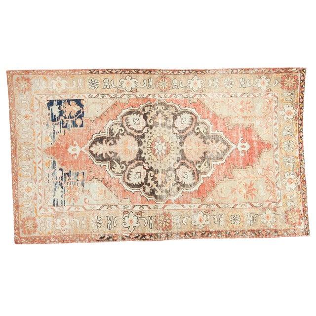 Vintage Oushak Carpet - 4′10″ × 8′2″ - Image 1 of 10