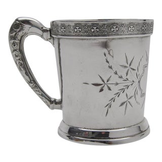 Victorian Silverplate Child's Cup
