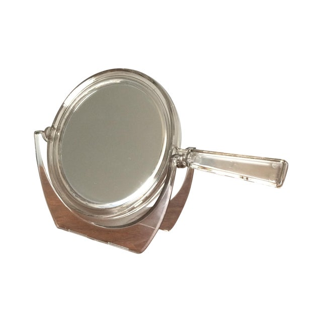 Vintage 2-Sided Hand Mirror - Image 1 of 11