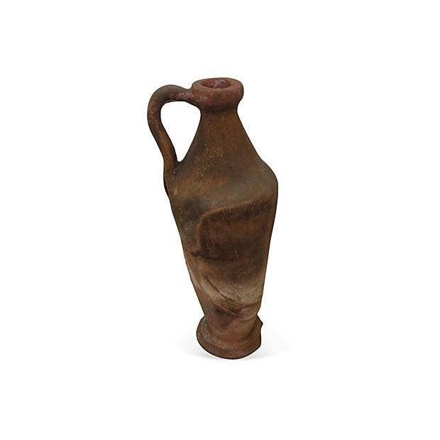 Early European Terracotta Jug - Image 1 of 5