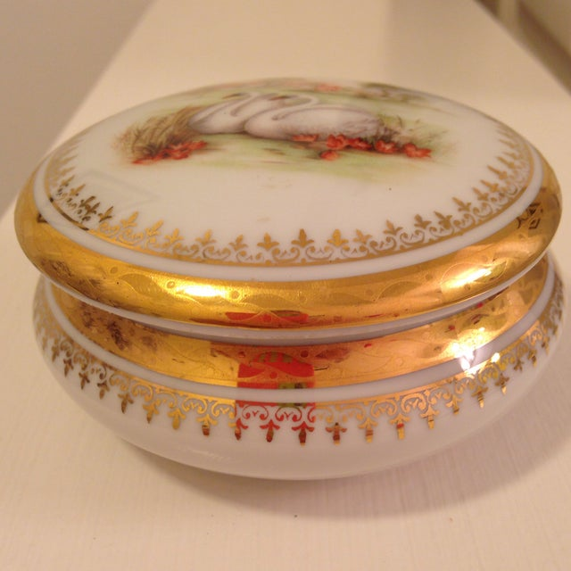 Vintage Swan Box - Image 5 of 6