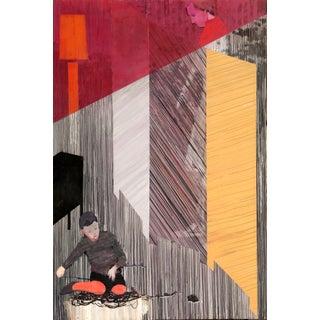 "Haavard Homstvedt ""Room Divider"" Painting"