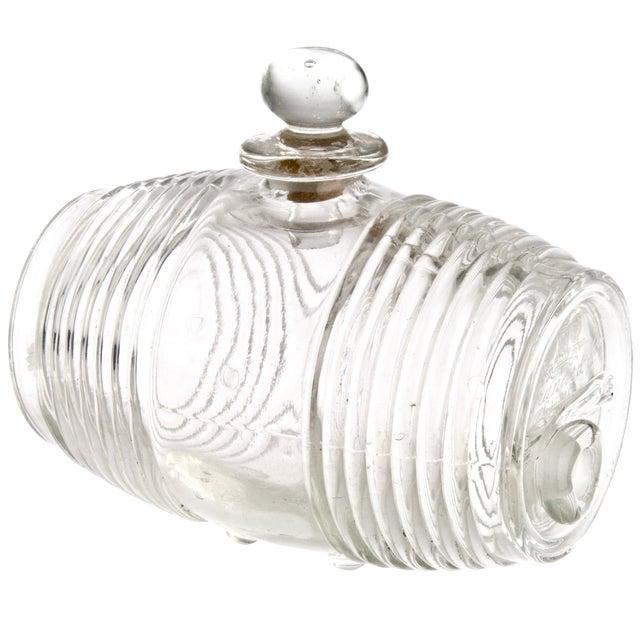 Vintage French Glass Cognac Barrel - Image 3 of 6