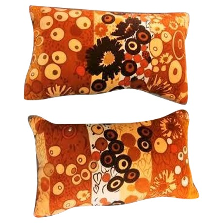Clarence House Velvet Pillows - Image 1 of 4