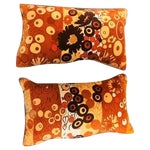 Image of Clarence House Velvet Pillows