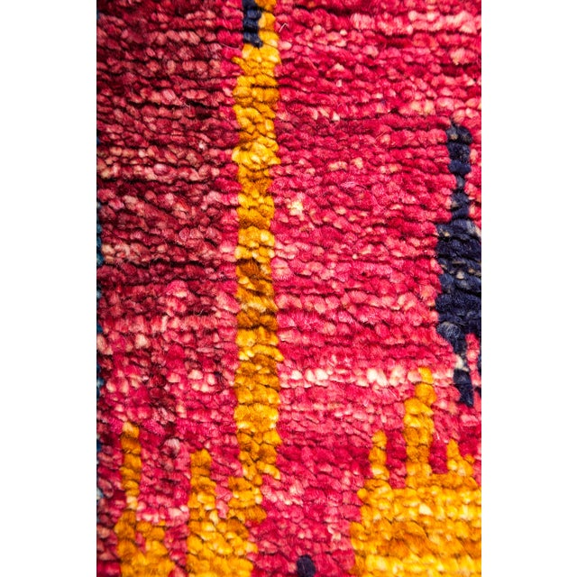 "Ikat Hand Knotted Area Rug - 5'9"" X 9'6"" - Image 3 of 3"