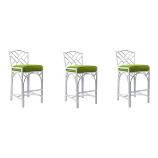 David Francis Outdoor Barstools - Set of 3