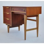 Image of Stanley Furniture Walnut Writing Desk