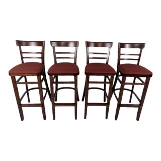 Vintage Modern Bar Stools - Set of 4