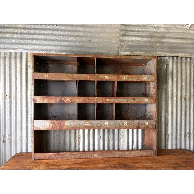 Vintage Industrial Cabinet - Image 2 of 9