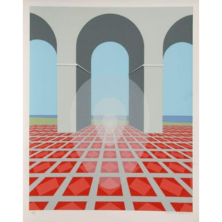 Clarence Holbrook Carter, Arches, Serigraph