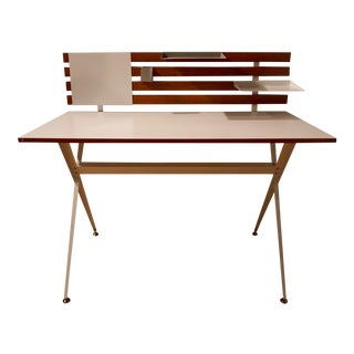 Modway Metal and Wood Desk