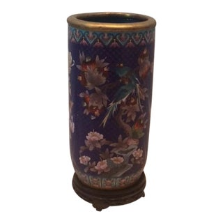 Chinese Collectable Cloisonne Umbrella Stand