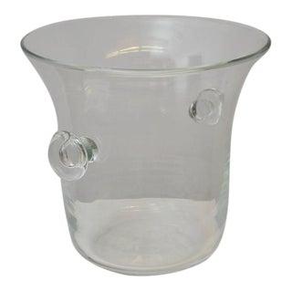 Karl Springer, Signed Ice Bucket Vase