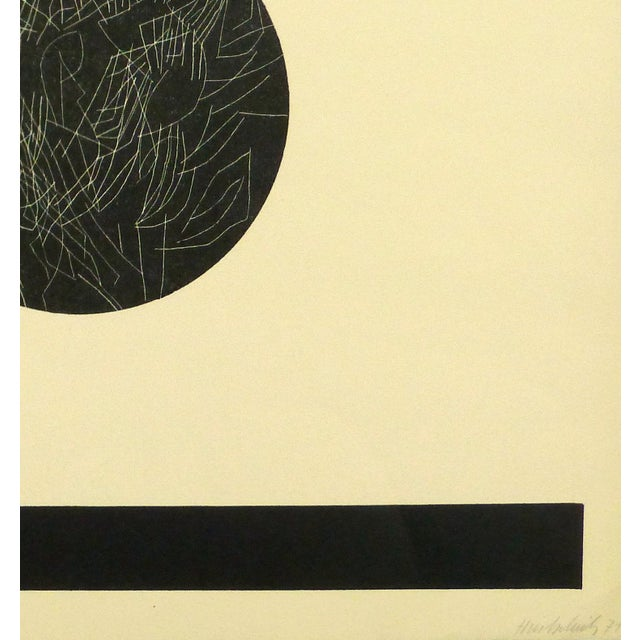 Abstract Fine Art Lithograph - Night & Day, 1971 - Image 2 of 4