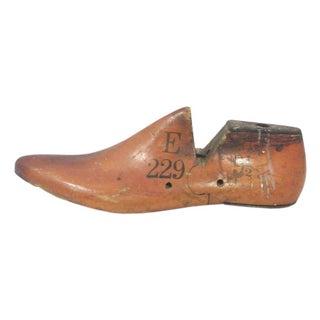 Industrial Wooden Shoe Mold