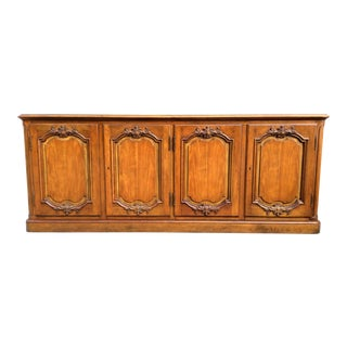Baker Furniture Cherry Wood Credenza