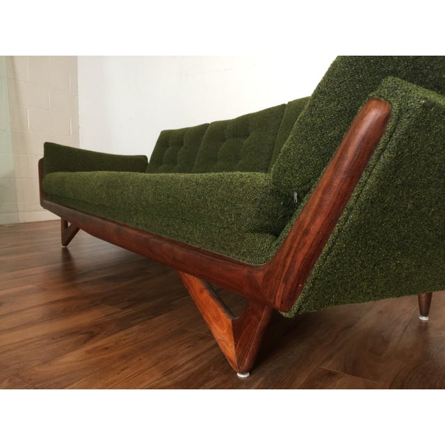 Adrian Pearsall Craft Associates Mid-Century Gondola Sofa - Image 10 of 11