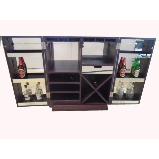 Mirrored Wine Bar Cabinet - Image 7 of 11