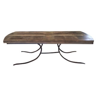 Handmade Industrial Style Banquet Table