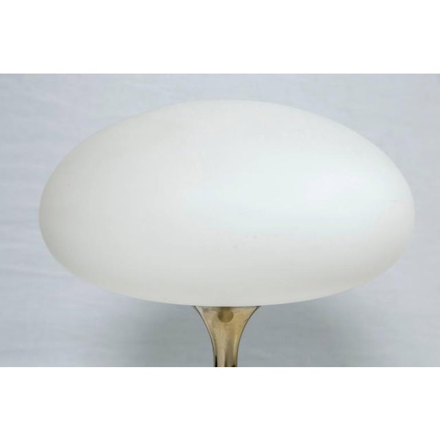 Image of Brass Mushroom Lamp Designed by Bill Curry for Laurel