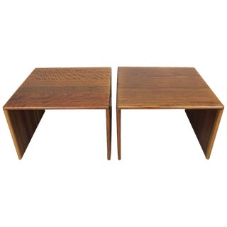 "Gerald McCabe Sedua"" C"" Tables - A Pair"