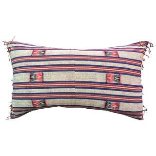 Naga Hill Tribe Woven Textile Pillow