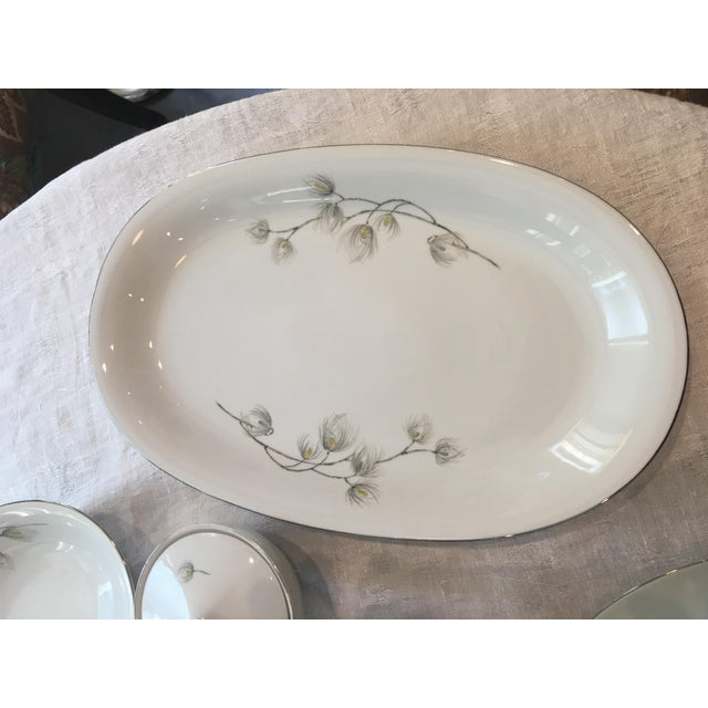Set of Bavarian Western Germany Pine Bough Dishes - Image 3 of 7