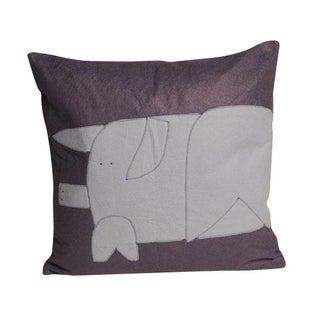 Purple Pig Pillow