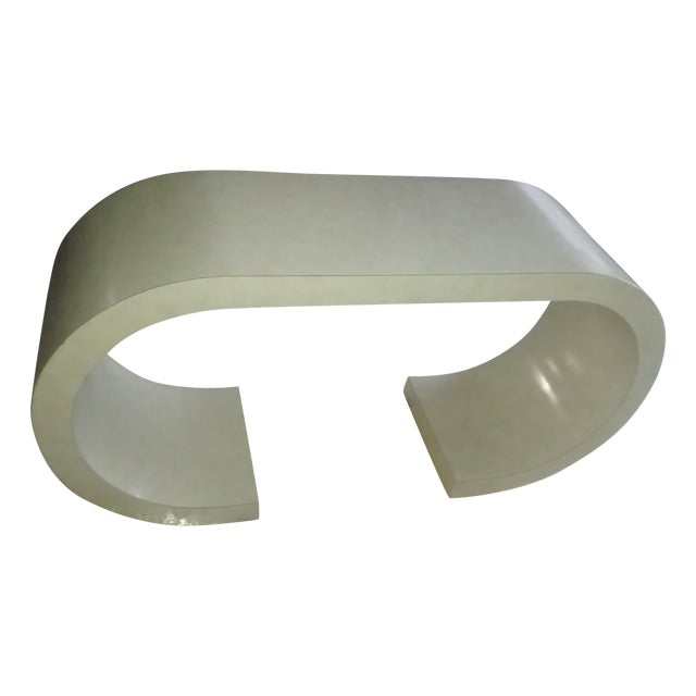 Art Deco Curved Table - Image 1 of 3