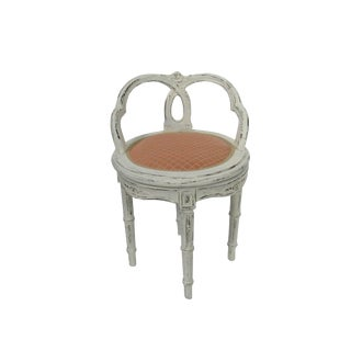 Antique Gustavian Boudoir Chair
