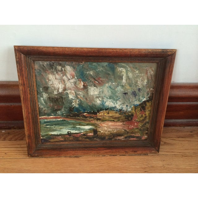 Wynn Breslin Landscape 1960s Oil Painting - Image 4 of 7